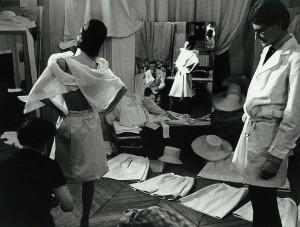 Yves Saint Laurent en 1962, photo Pierre Boulat.